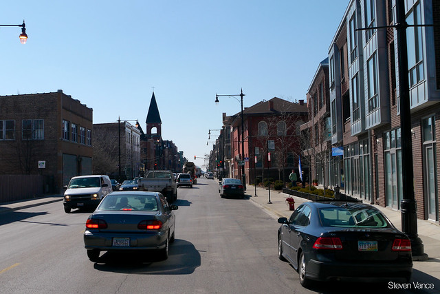 North Avenue no longer has rush hour parking controls!