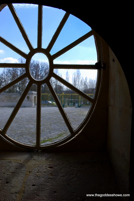 Basement Panes; window at Le Petit Trianon at Versailles, France