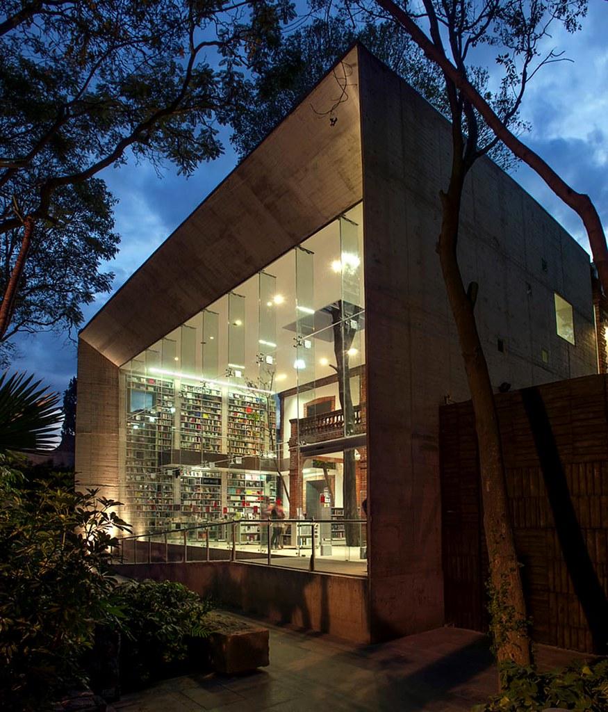 Elena Garro Cultural Center design by Fernanda Canales + Arquitectura 911
