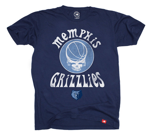 Memphis Grizzlies Grateful Dead Shirt