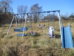 Swingset on Vacant Property