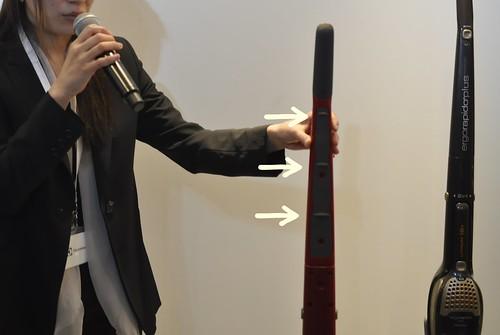 スウェーデン エレクトロラックス社 コードレス 掃除機 エルゴラピード