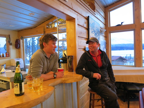 Pilots Paul Claus and Ben Gray at Ultima Thule Lodge