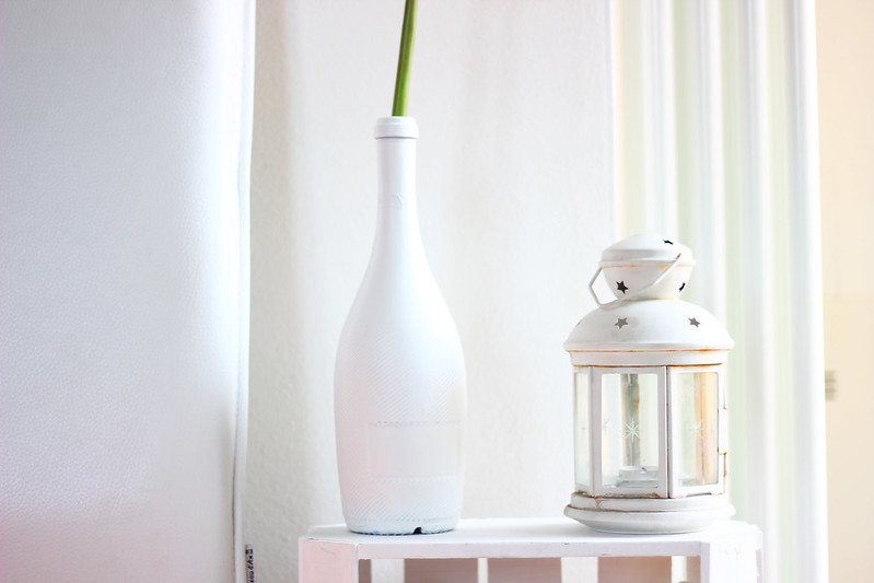 the white factor - fiori sia home fashion - diy flower vase
