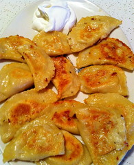 home made pierogi