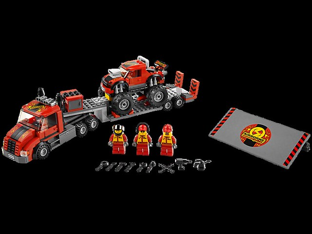 LEGO City 60027 - Monster Truck Transporter
