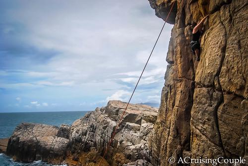 Long Dong Taiwan Rock Climbing
