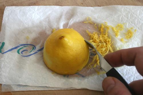 09 - Schalenabrieb erzeugen / Use zester
