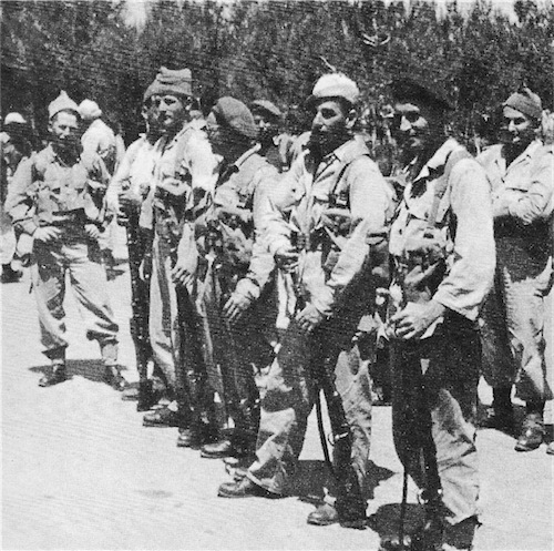 Front line platoon, Kibutz Yad Mordechai, May 1948 - 150 defenders against 3000 enemy soldiers