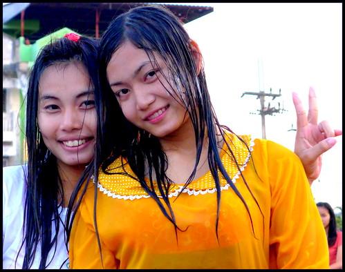'Songkran...'...  Kalasin,  Thailand 2556