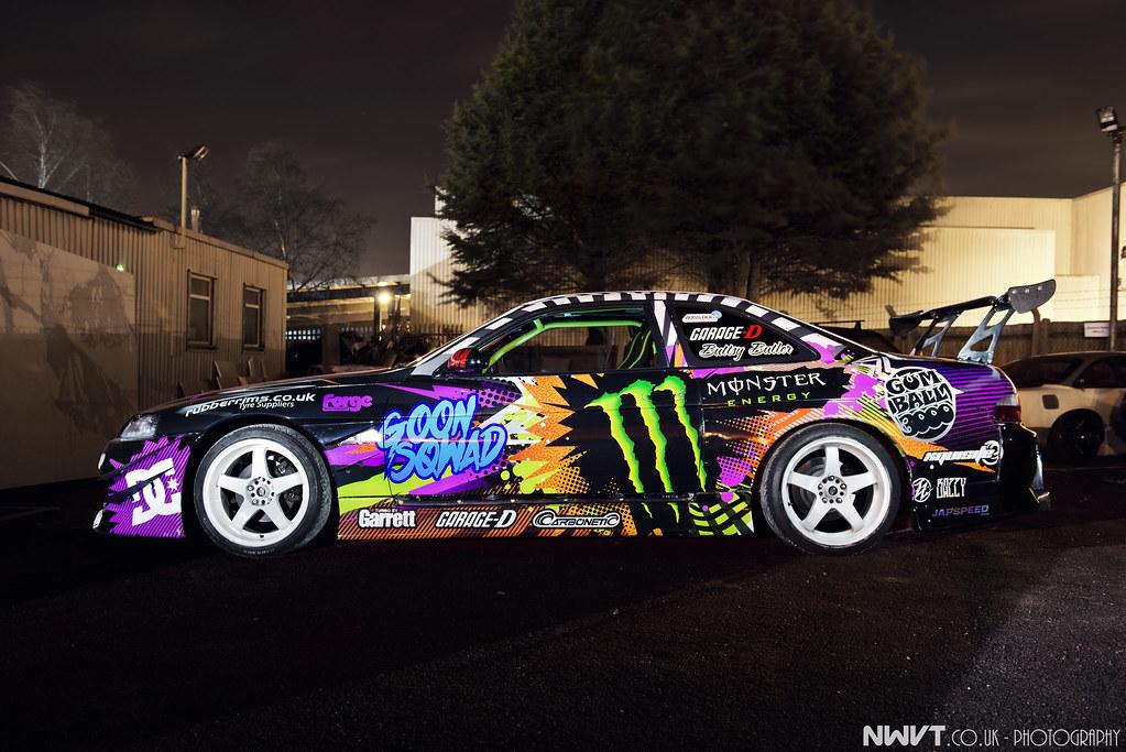 Fluidr Monster Energy Athlete Buttsy Butler Drift Car