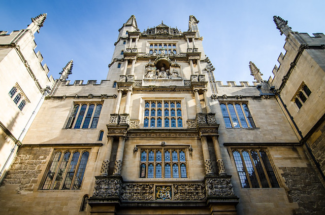 bodleian library oxford england united kingdom university