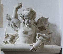 triumphant cherub