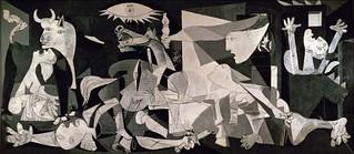 """""""El """"Guernica"""" es el punto de partida de la exposición."""