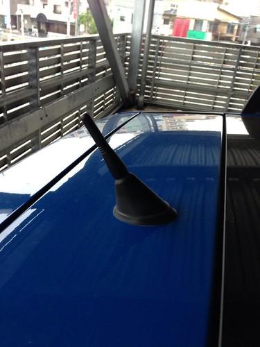 FIAT New Panda antenna replace
