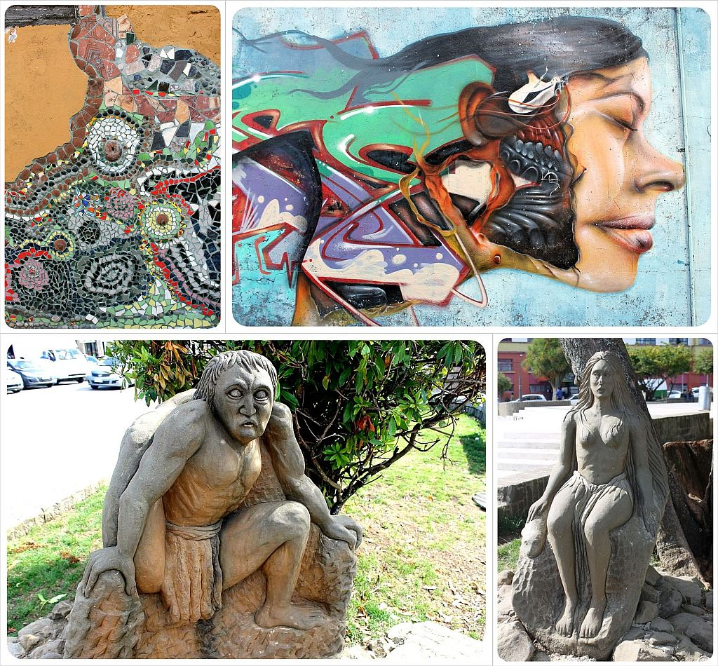 Ancud Street Art and sculptures