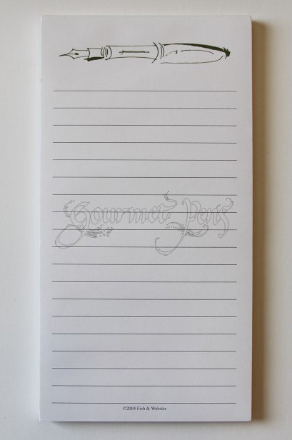 Fountain Pen Notepad