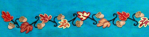 embroidery close