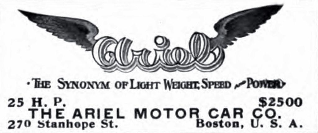 1905 Ariel logo
