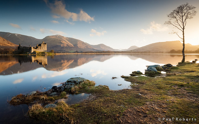 Kilchurn Castle & Loch Awe at sunrise [IMG_1372]