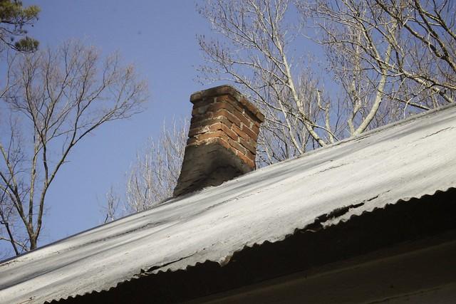Schoolhouse chimney