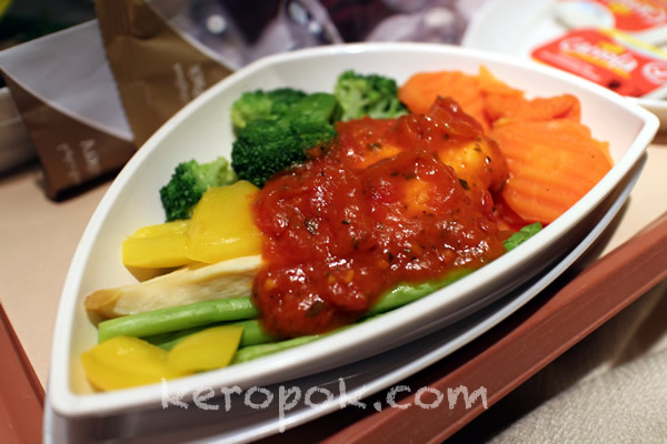 Emirates Low Cholesterol / Low Fat Meal (SIN-DXB)