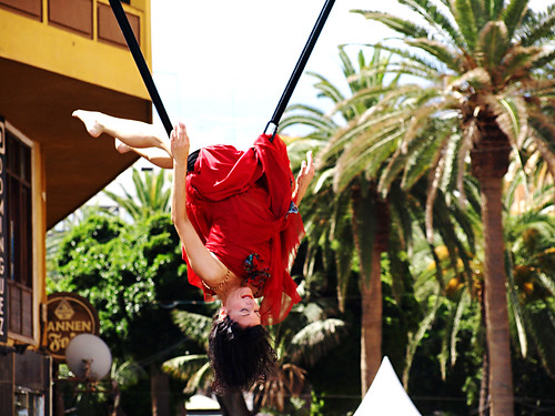 Acrobatic flamenco, Mueca, Puerto de la Cruz, Tenerife