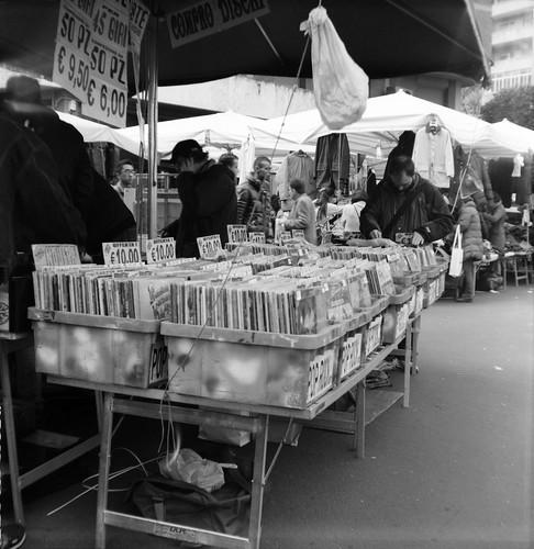 Records @ Porta Portese Flea Market