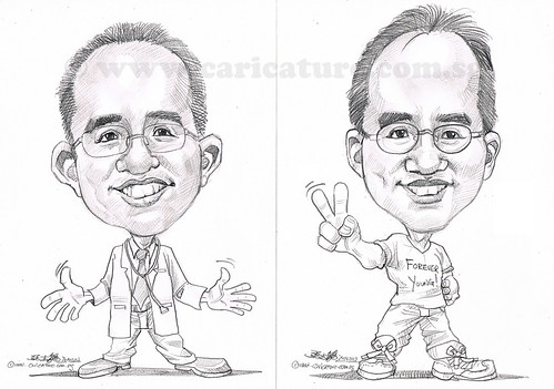caricatures in pencil 24042013