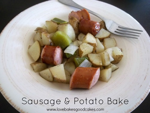 sausage & potato bake