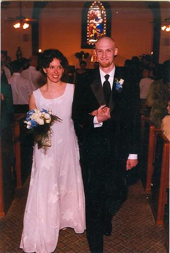 Our wedding April 2003