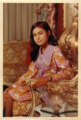 formal wear(0.0), sari(0.0), art(1.0), pattern(1.0), textile(1.0), clothing(1.0), maroon(1.0), peach(1.0), photo shoot(1.0),