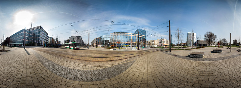 meeting of the trams - 360°