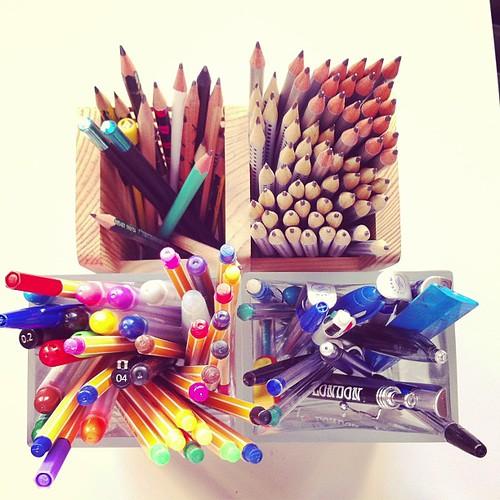 My nice pencils.