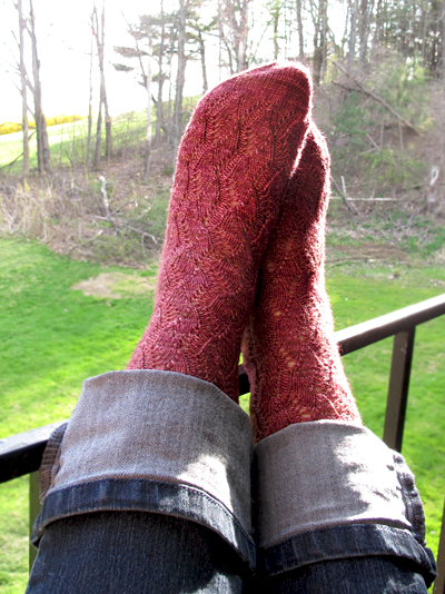 Waving Lace Socks_2