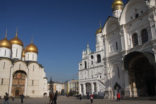 Moscow Kremlin churches