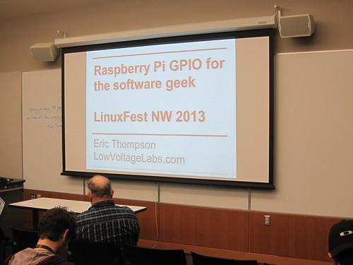 LinuxFest Northwest 2013 presentation