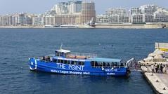 Ferry boat Valletta - Silema, Malta