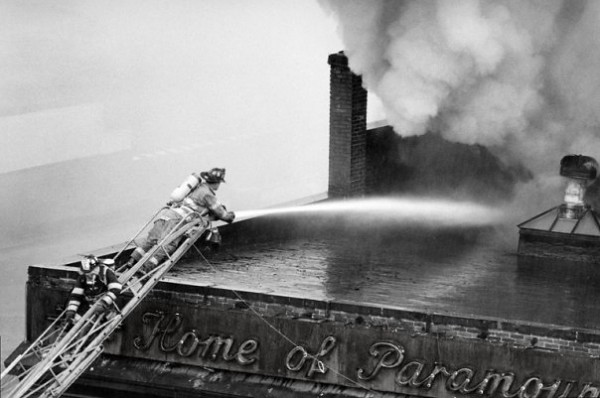 Paramount Theater Fire April 1991