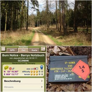 Geocaching im Schaumburger Wald