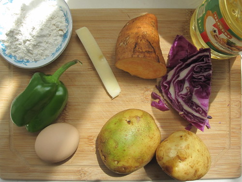 Beijing bubble and squeak ingredients