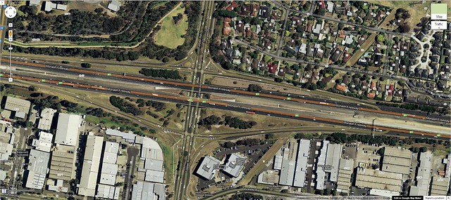 M1: Forster Road Interchange