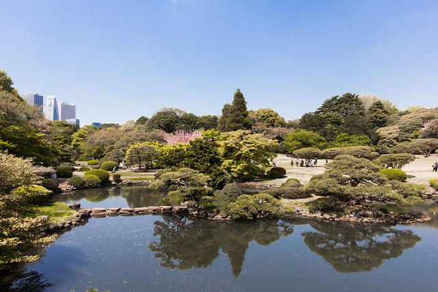 Shinjuku Gyoen in April