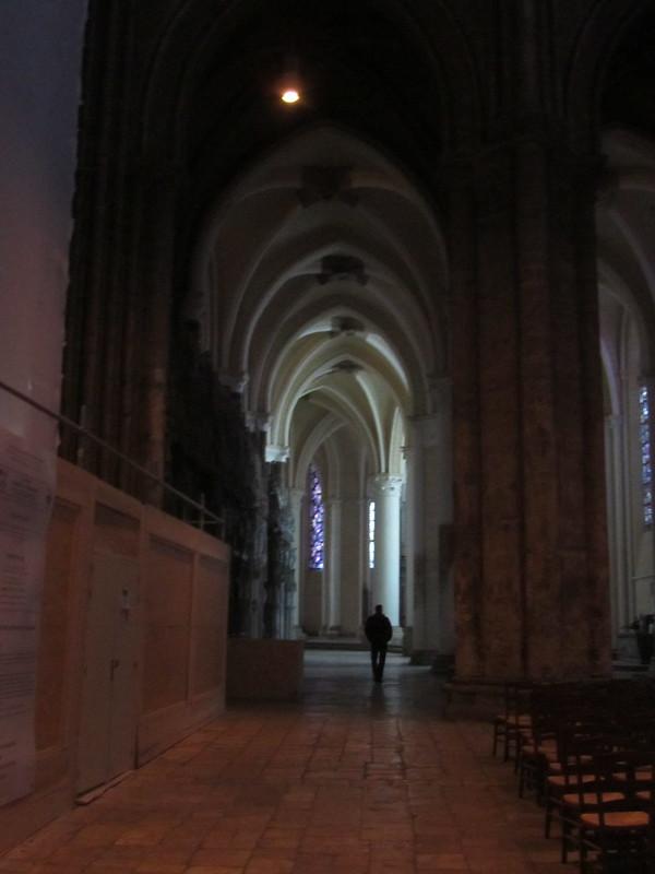 Yo por la catedral de Chartres
