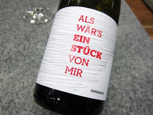 Weingut Gunderloch Als waers ein Stueck von mir
