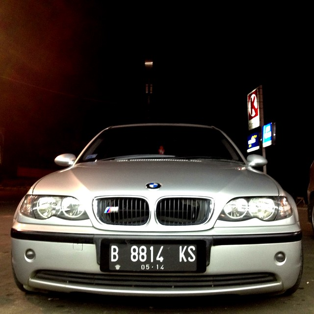 Bmw E46 Titanium Silver With V Maxx Coilover Amp Eisenmann
