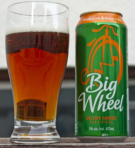 Review: Amsterdam Big Wheel Deluxe Amber Ale by Cody La Bière