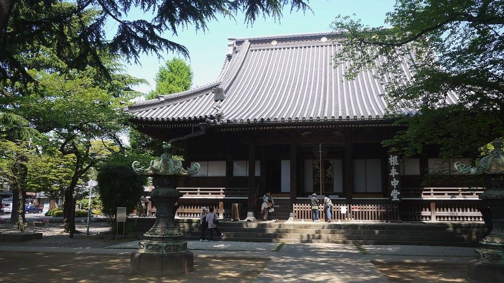 Temple in Yanaka