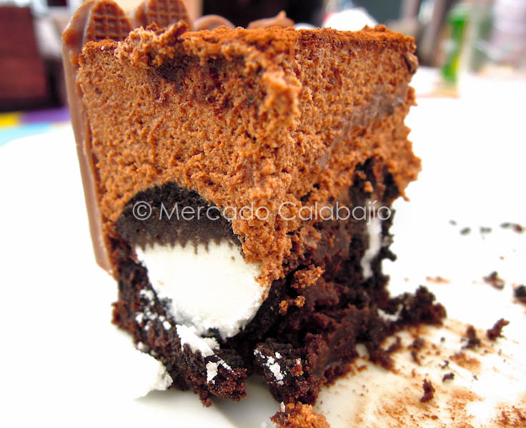 TARTA BROWNIE DE OREO CON MOUSSE DE CHOCOLATE-37