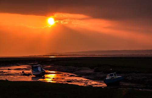 sunset wales unitedkingdom wfc penclawdd